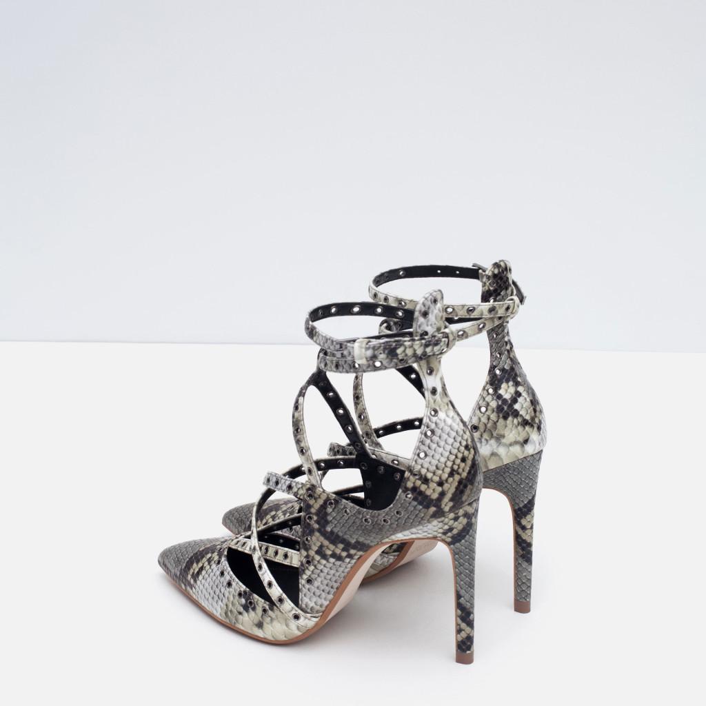 scarpe lacci tacco alto