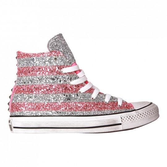 sneakers glitter viareggio jadorelemakeup