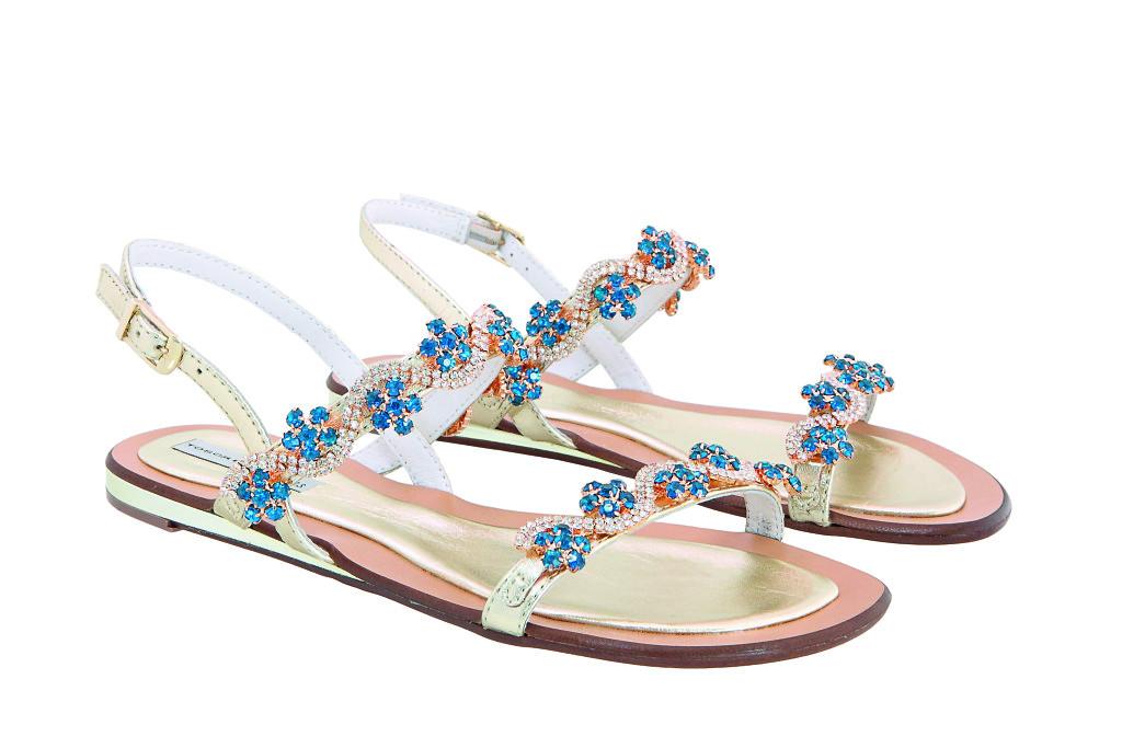 scarpe tosca blu ss2016 sandali gioiello