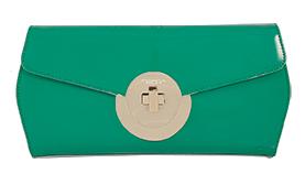 clutch verde smeraldo toscablu 2016