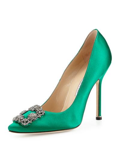 manolo blahnik hangisi verde smeraldo