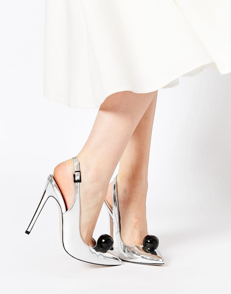 scarpe argento low cost