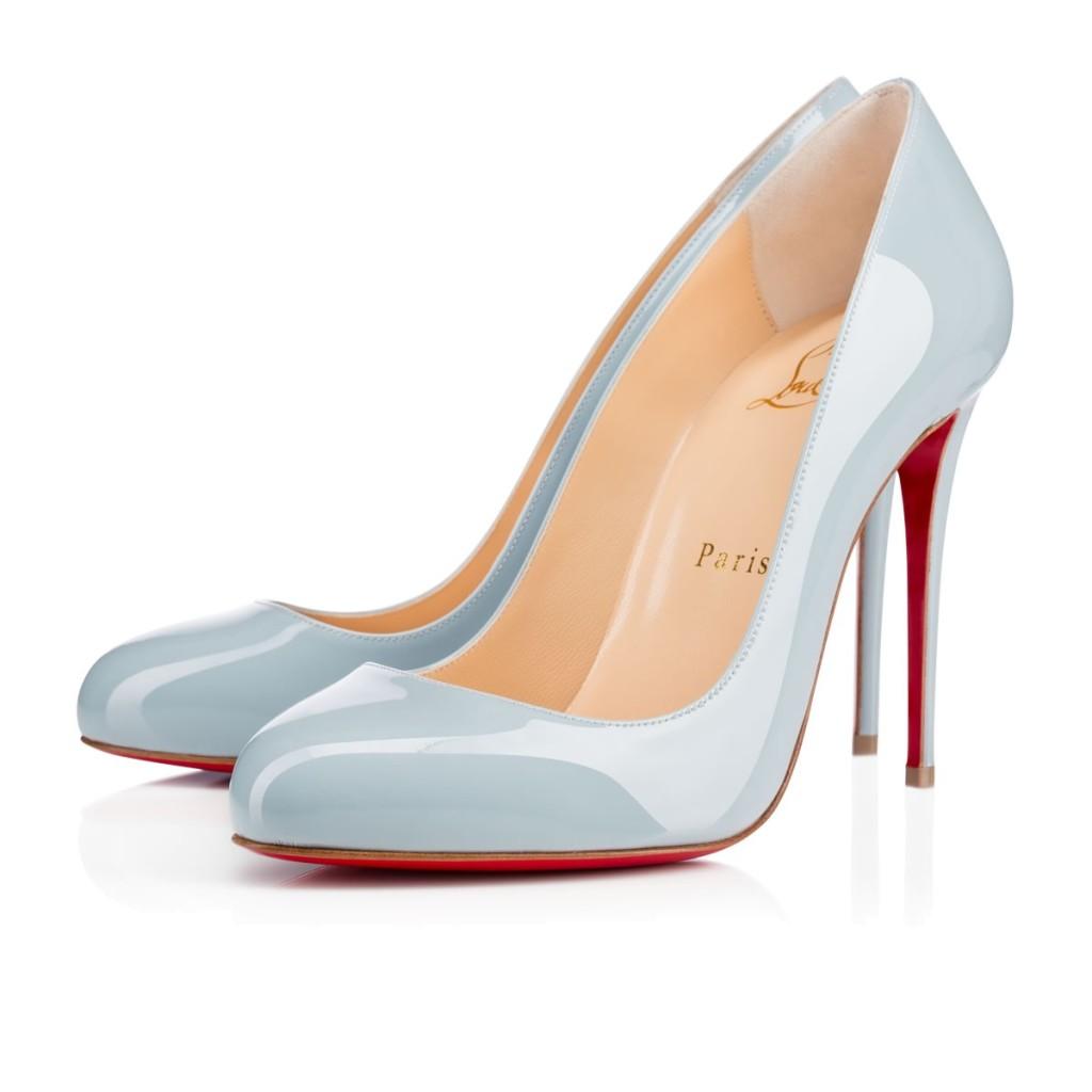scarpe azzurro polvere serenity louboutin