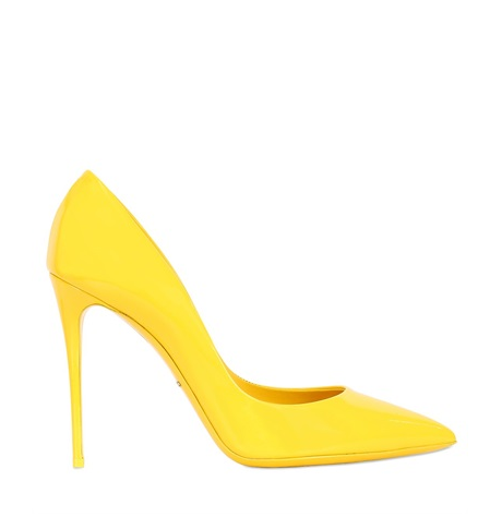 scarpe color buttercup giallo