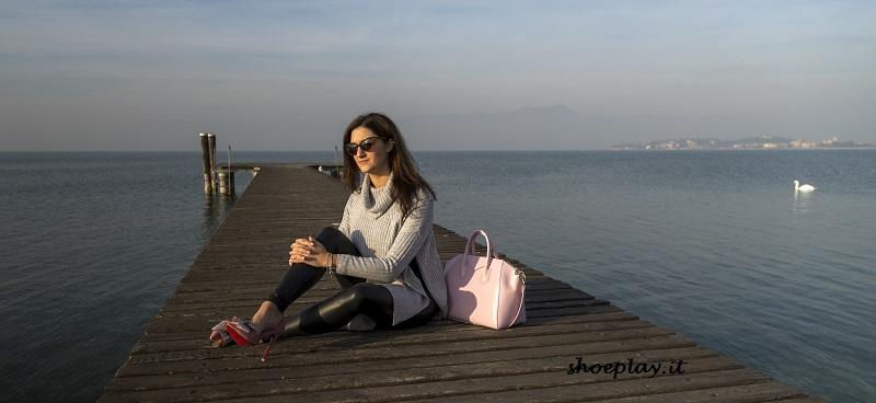 borsa rose quartz scarpe