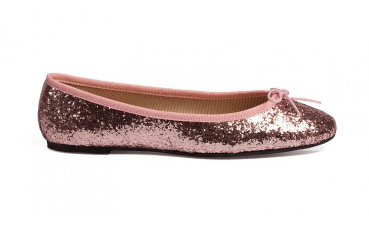 ballerine glitter rosa
