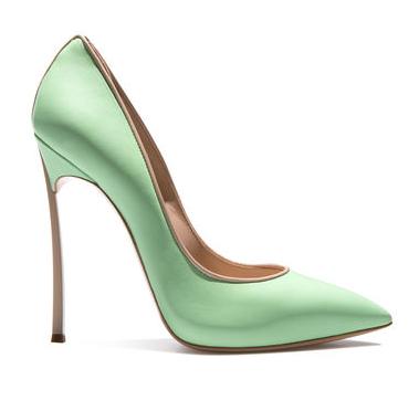 casadei blade mint green verde mela 2016