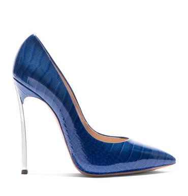 casadei klein blue blade pump 2016