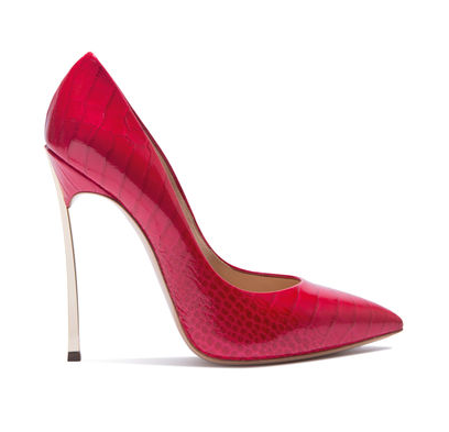 casadei red pumps blade 2016