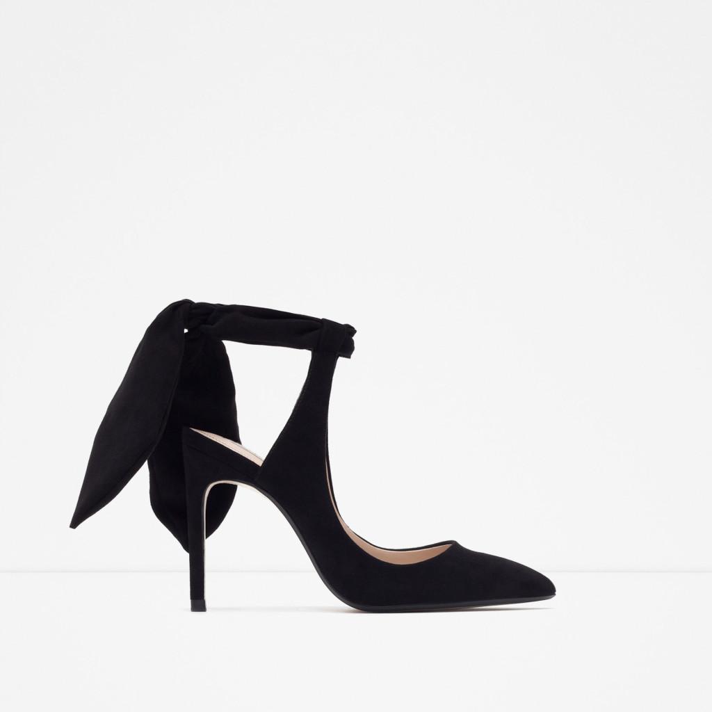 scarpe fiocco zara