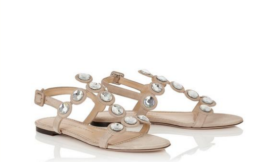 sandali bassi sposa charlotte olympia 2016