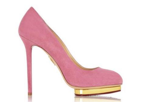 scarpe rosa charlotte olympia 2016