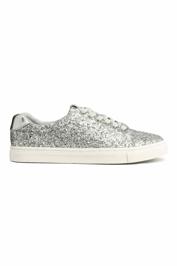 snakers glitter low cost