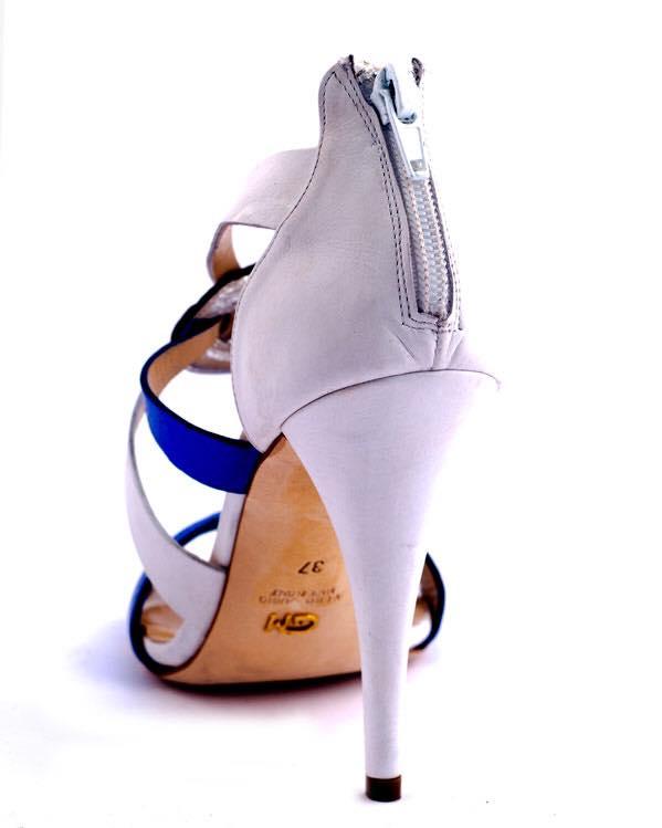 sandali blu elettrico 2016