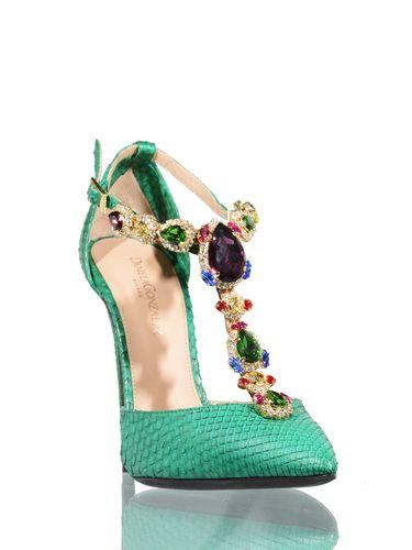 tacchi verde smeraldo