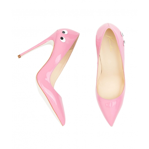 decollete rosa confetto tacco alto - Shoeplay Fashion blog di scarpe ... e37d1c64581
