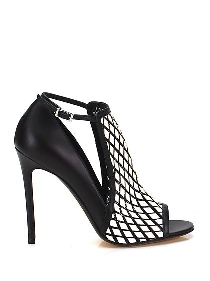 scarpe bicolori tacco alto