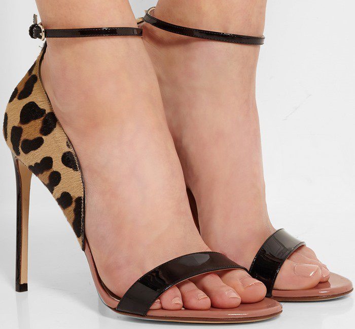sandali leopardati