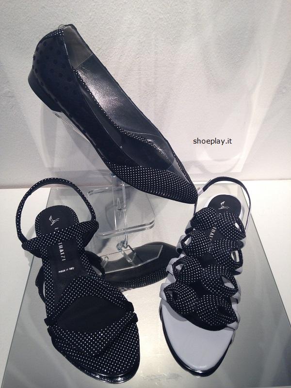scarpe pois luisa tratzi