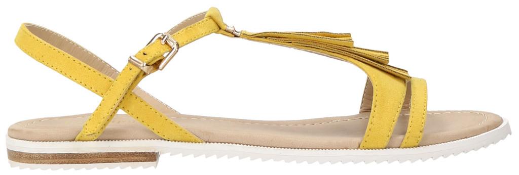 sandali bassi gialli