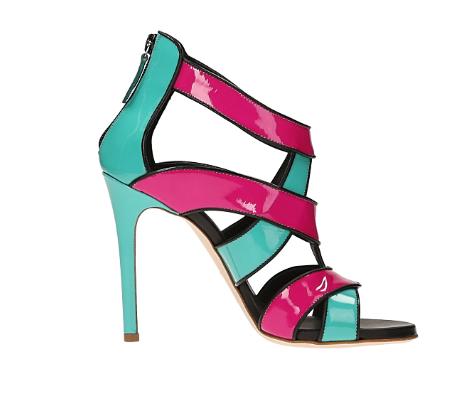 sandali colorati 2016
