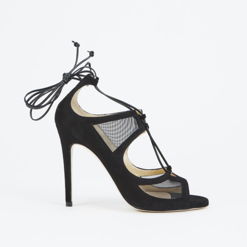 sandali neri duccio venturi bottier