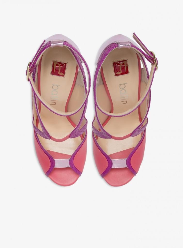 sandali rosa fragola 2016