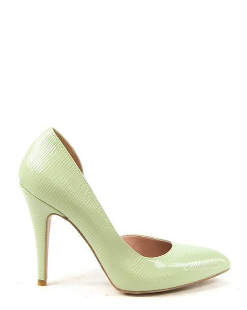 scarpe verdi tacco alto