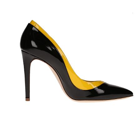 scarpe vernice nera