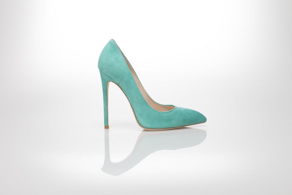 scarpe color tiffany