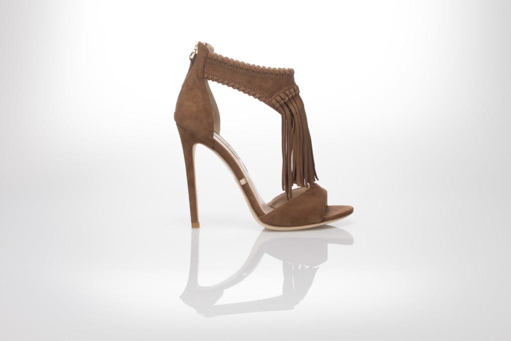scarpe sandali frange