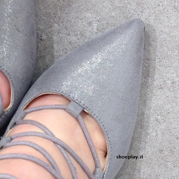 scarpe grigio perla low cost