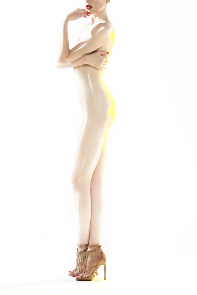 LODOVICO ZORDANAZZO SS16 Brigitte Brown Mesh