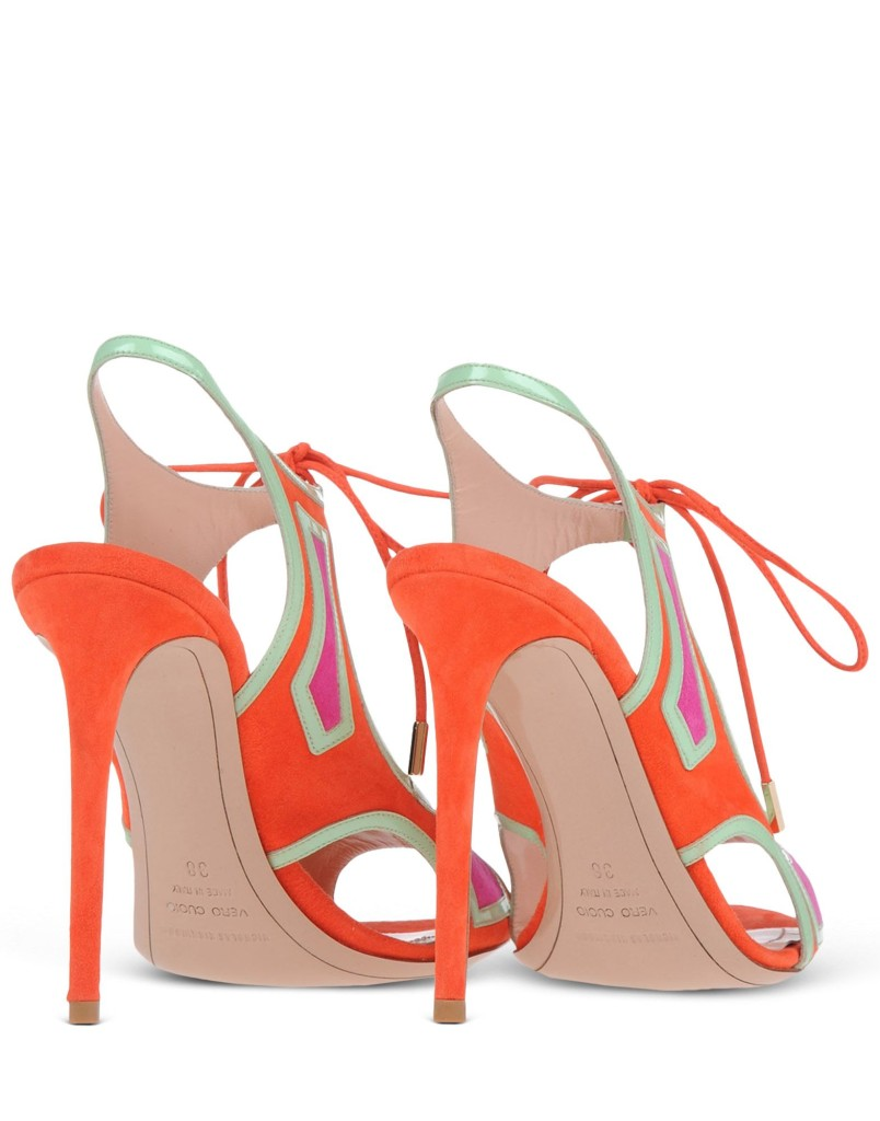 sandali arancio