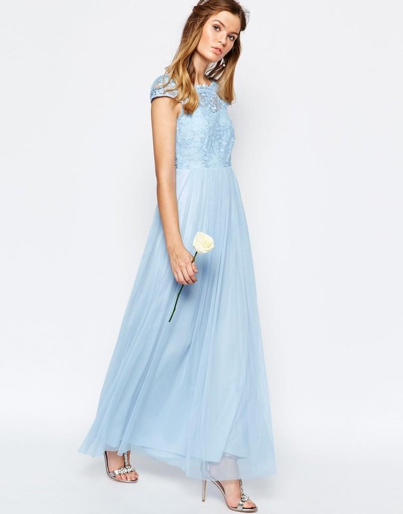 vestito azzurro matrimonio