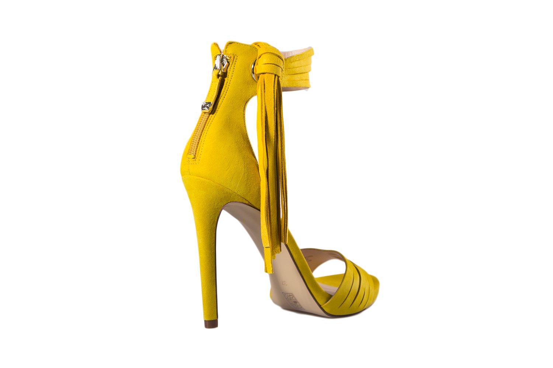 Tacco Gialli Moda Alla Sandali Alto Con Xocerdb nP8w0OkX