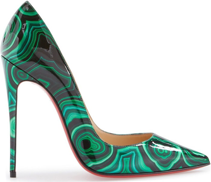 Christian-Louboutin-So-Kate-Pump-Fall-2016-marbled-green-shoes