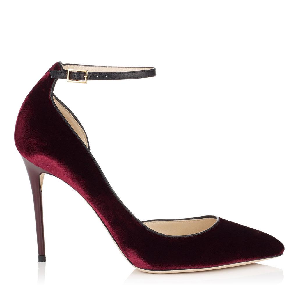 scarpe jimy choo rosse
