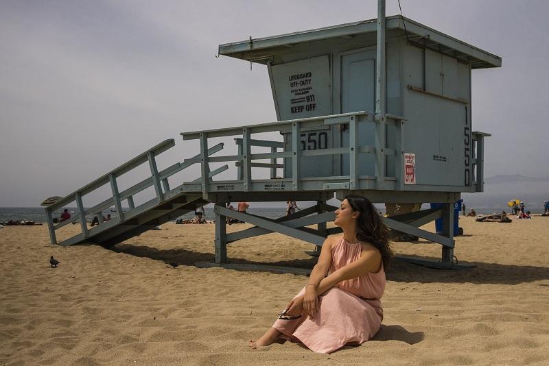 spiaggia santa monica