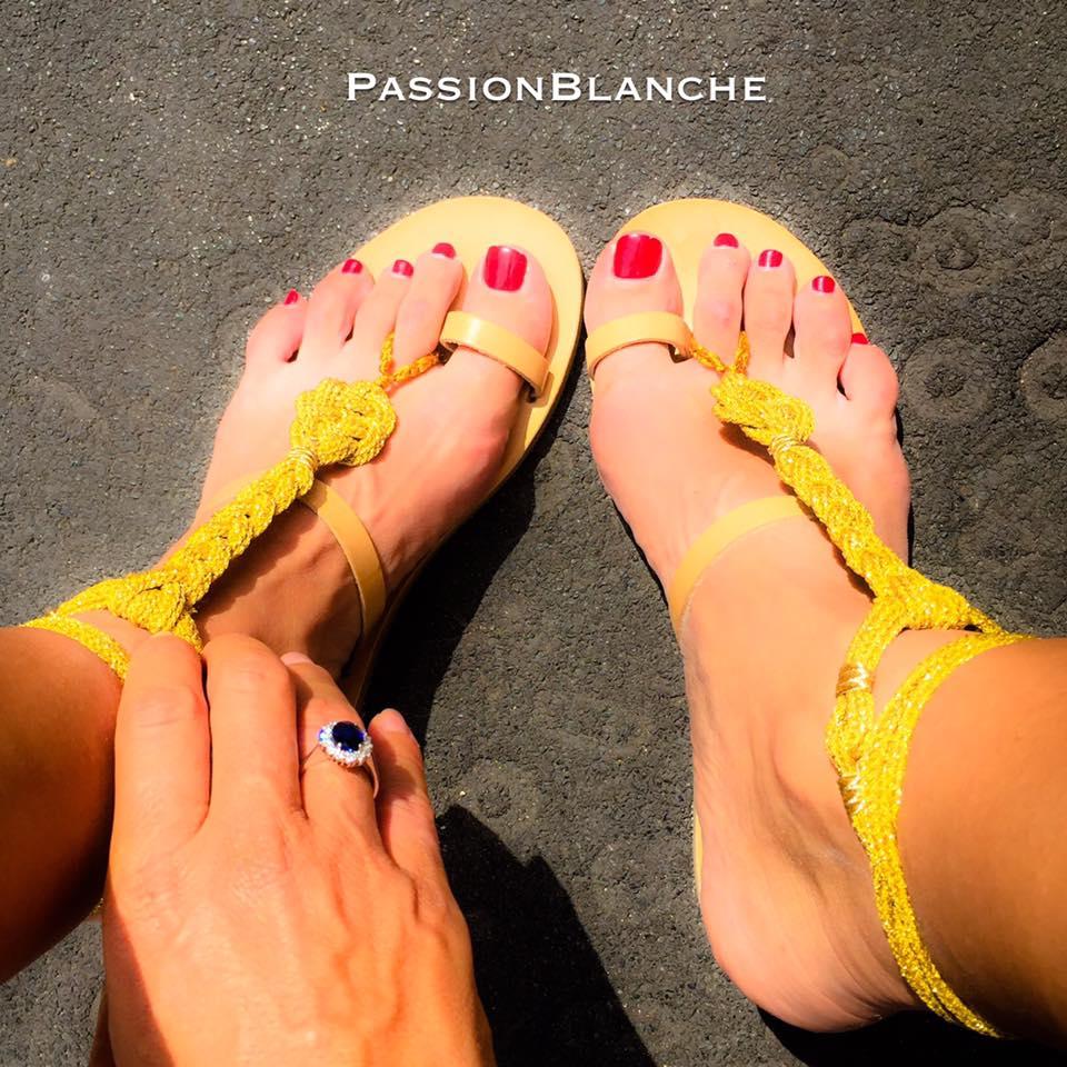 bikini per i piedi