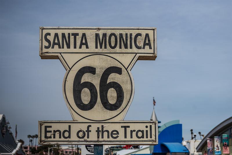 Santa-Monica route 66