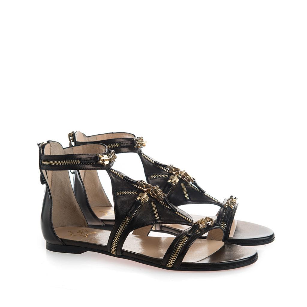 sandali bassi particolare