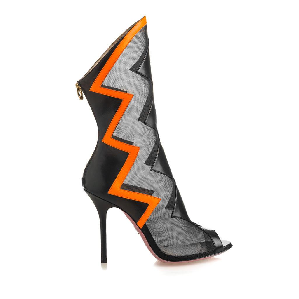 scarpe mesh trasparente