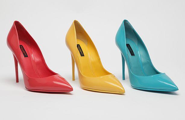 Luxury vs low cost  décolleté colorate Dolce Gabbana e Aldo Shoes ... c853887b482