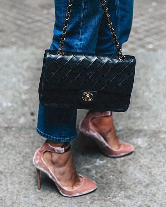 scarpe-in-velluto-donna