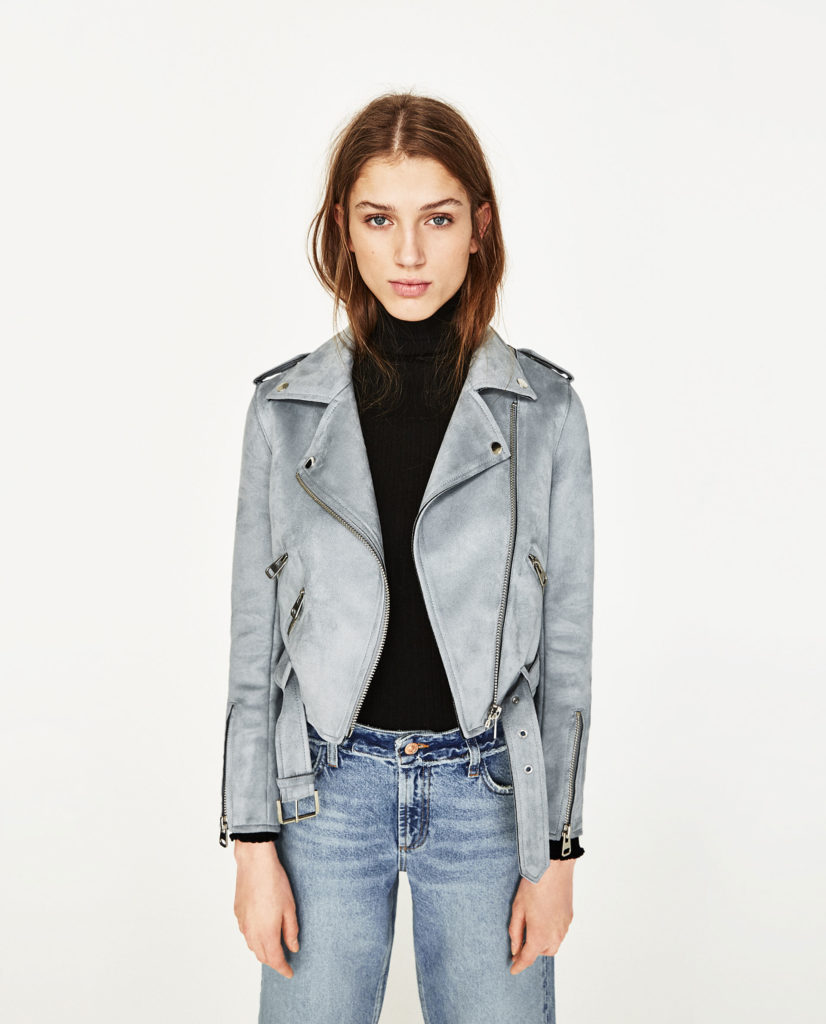 giacche di pelle zara 2017