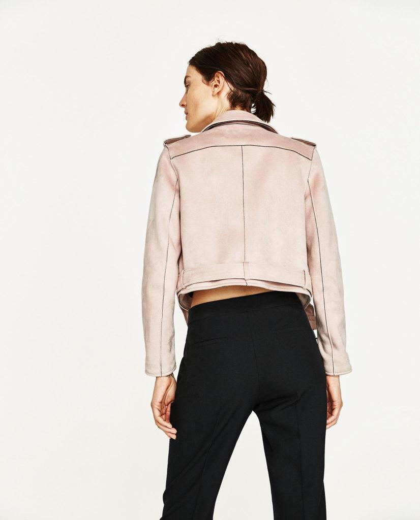 Giacche in pelle Zara - Moda donna primavera 2017