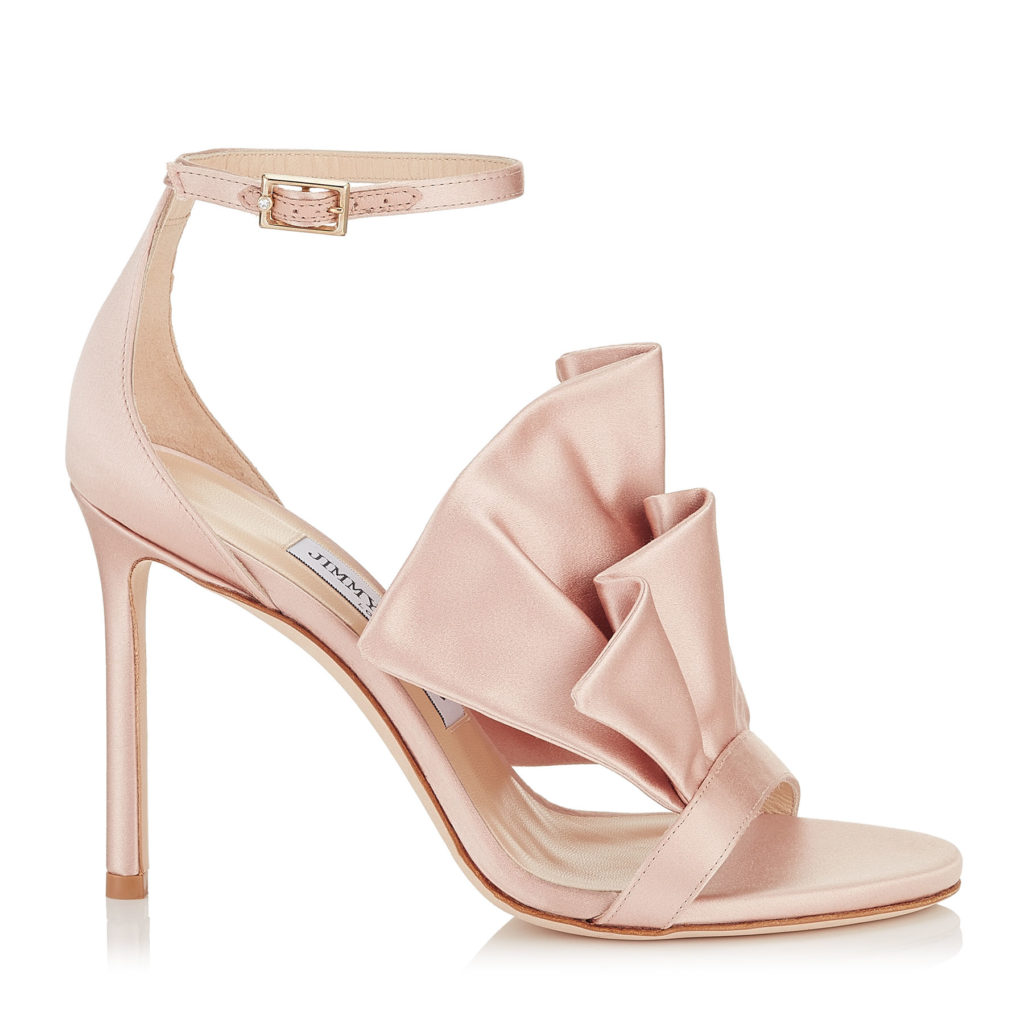 sandali rosa sposa