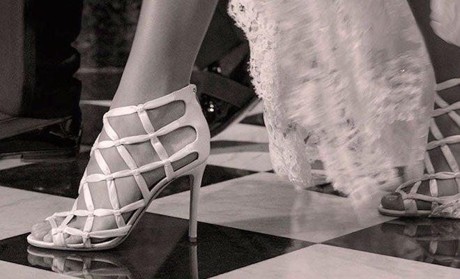 come calzano le scarpe jimmy choo