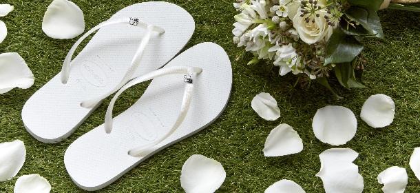 Infradito havaianas wedding